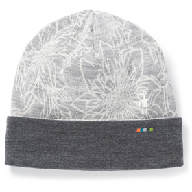 Smartwool Merino 250 Pattern Cuffed Beanie light grey/traced dahlia